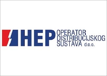 HEP obavijest za dio naselja Donji Kosinj (od kbr. 3 do kbr. 34)